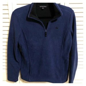 Brooks brothers fleece quarter zip!